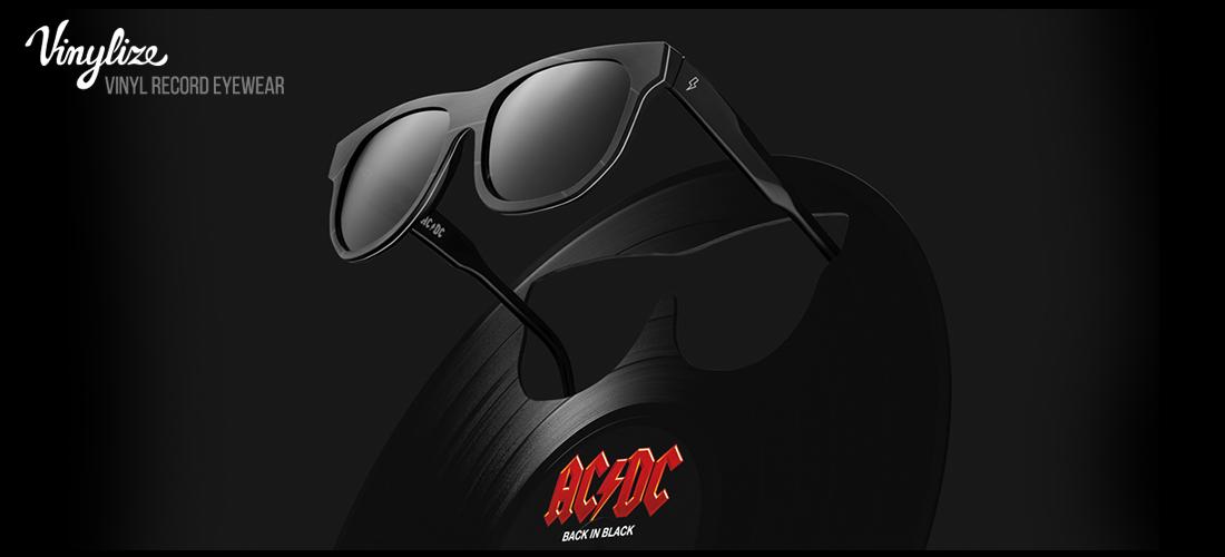 2a89a73c8ec5e5 Vinylize zonnebrillen x AC DC  back in black